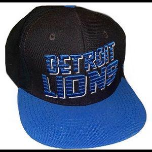 Vintage Reebok Detroit Lions SnapBack
